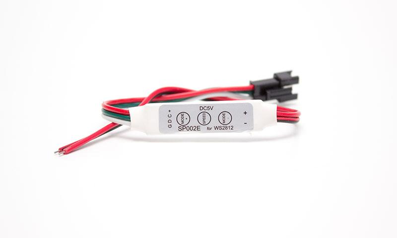 Mini Controlador para Led Pixel 5V