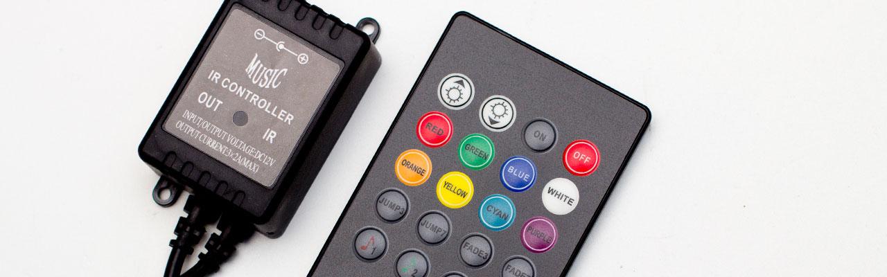 controlador audioritmico rgb