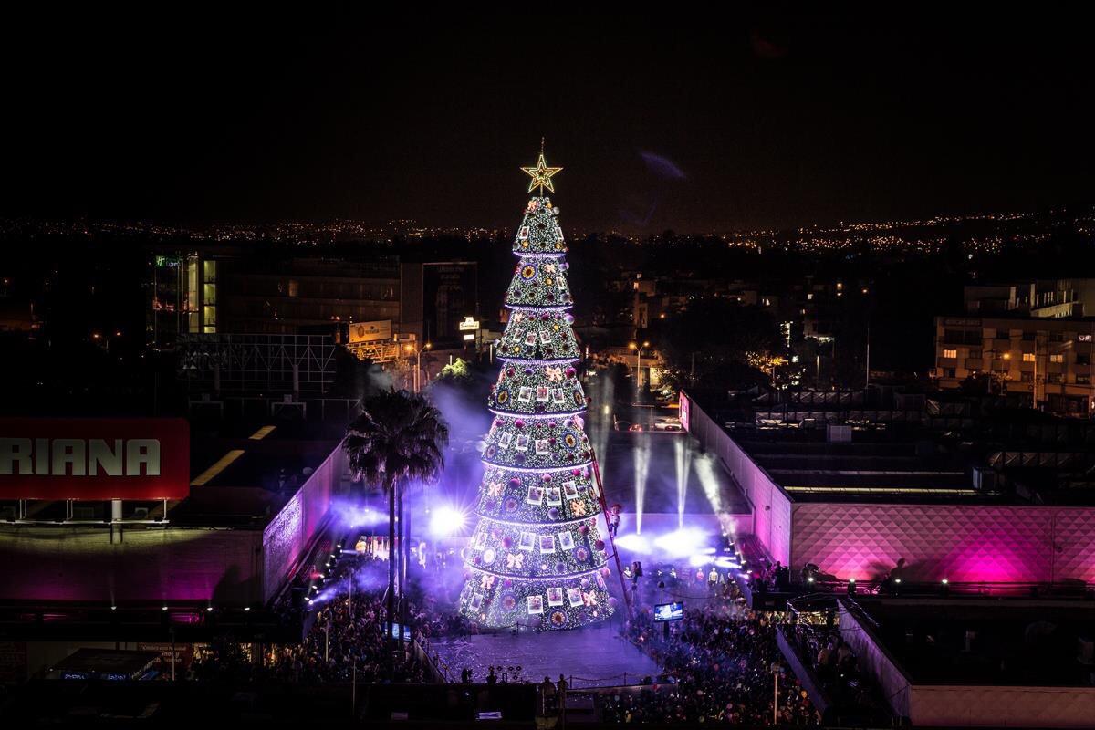Arbol de Navidad Plaza del Sol Centro Comercial Guadalajara