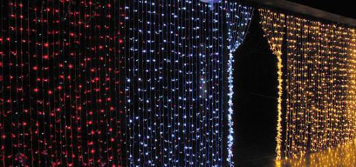 Cortinas led navidad luces de navidad for Cortinas con luces