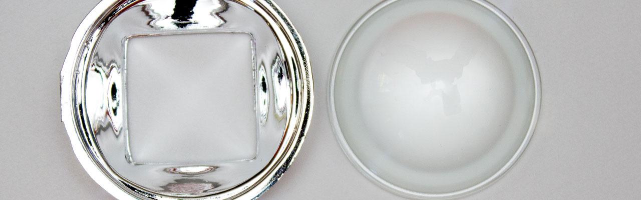 lente reflector 44mm